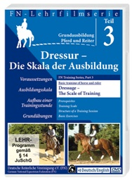 DRESSAGE-THE SCALE OF TRAINING: FN TRAINING SERIES DVD 3