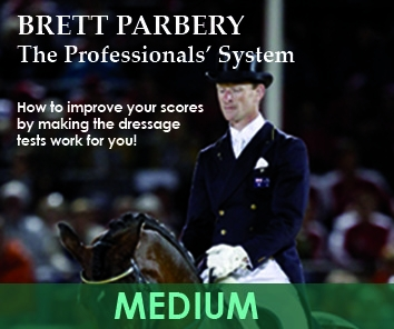 Brett Parbery: The Professionals' System- MEDIUM Double DVD Set