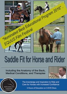 Saddle Fit for Horses and Rider (3 - Disc DVD)