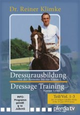 DRESSAGE TRAINING VOL 1-3 NOVICE LEVEL