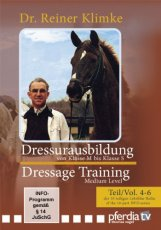 DRESSAGE TRAINING VOL 4-6 MEDIUM LEVEL
