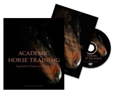 Academic Horse Training Book & DVD Bundle