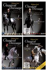 CLASSICAL DRESSAGE SET (1-4) DVD