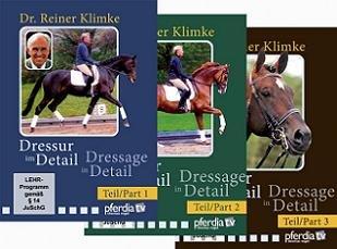 DRESSAGE IN DETAIL 1-3 SET (DVD)