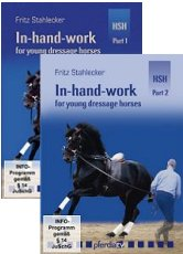 IN HAND WORK FOR YOUNG DRESSAGE HORSES VOLS 1 & 2 DVD