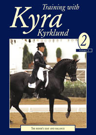 TRAINING WITH KYRA VOL 2 (DVD) THE RIDER'S SEAT AND BALANCE