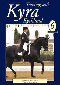 TRAINING WITH KYRA VOL 6 (DVD) ADVANCED MOVEMENTS CANTER