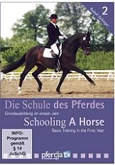 SCHOOLING A HORSE PART 2 (DVD): BASIC TRAINING 1ST YEAR