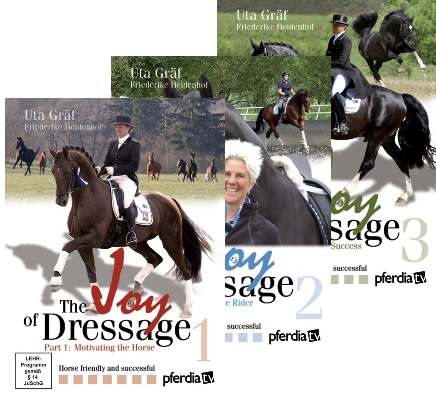 JOY OF DRESSAGE (DVD) SET PARTS 1-3