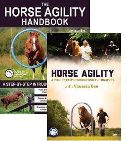 Horse Agility Book & DVD Bundle