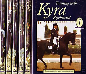 TRAINING WITH KYRA SET (DVD) VOLUMES 1-6
