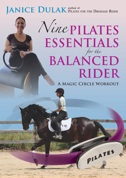 NINE PILATES ESSENTIALS FOR BALANCED RIDER DVD